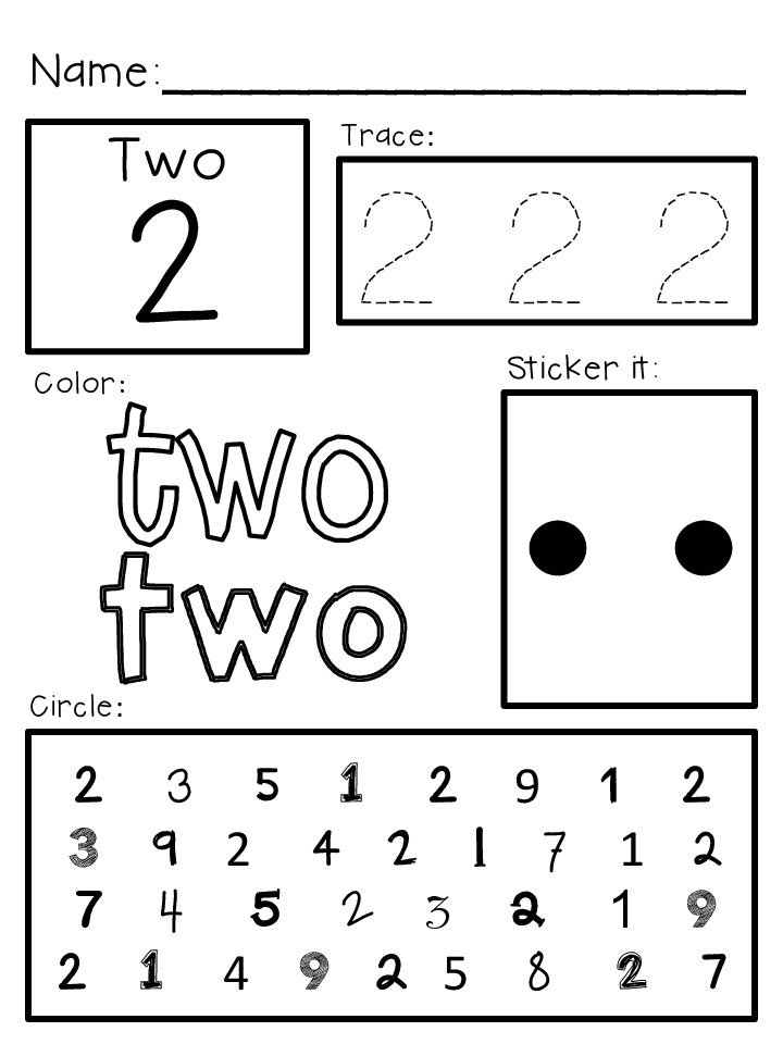 Printables Prek Worksheets 6 best images of pre k homework printables worksheets shapes worksheets