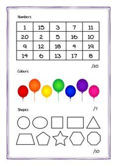 Free Printable Preschool Assessment & Goals Workbook!! » One