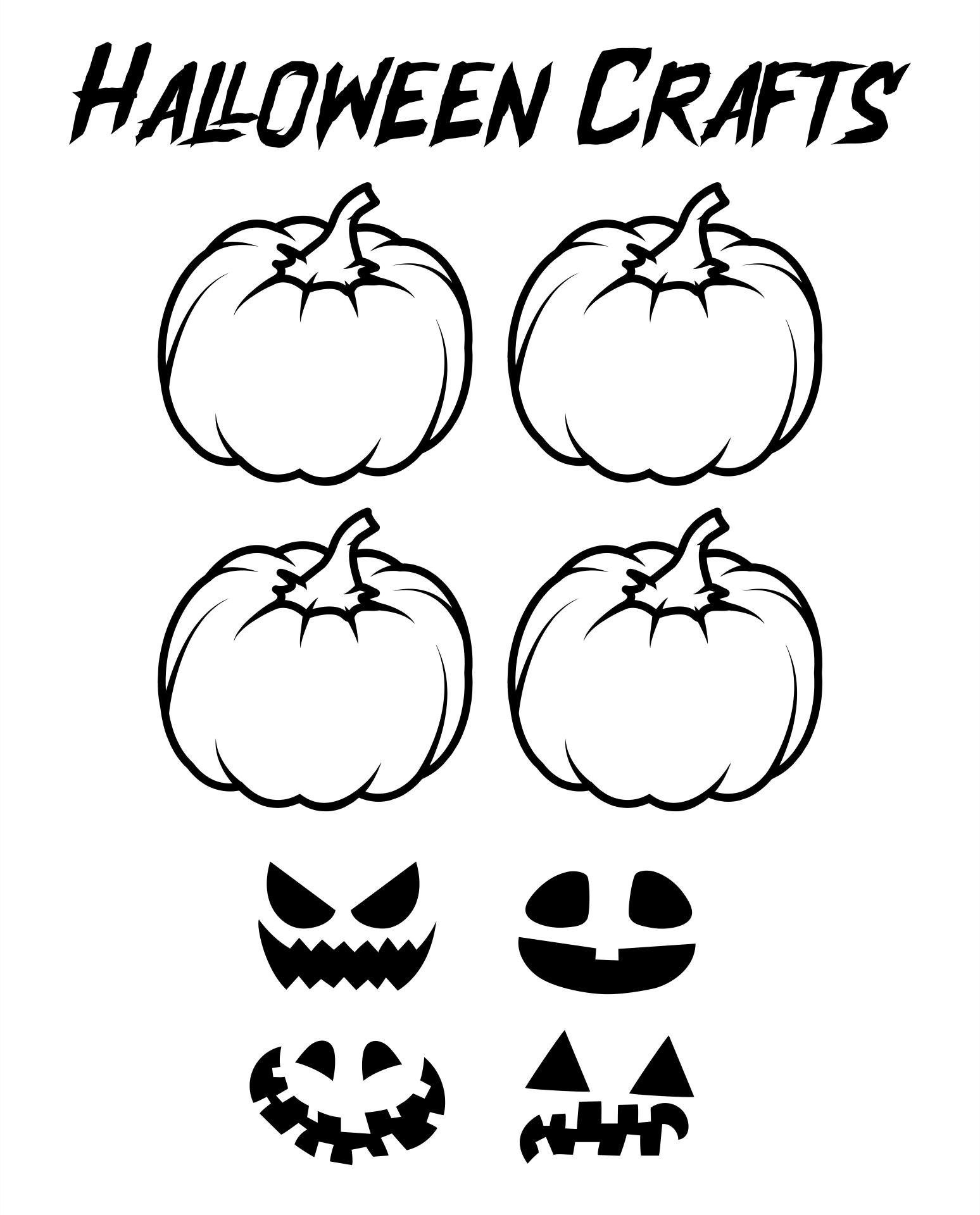 Preschool Halloween Craft Project