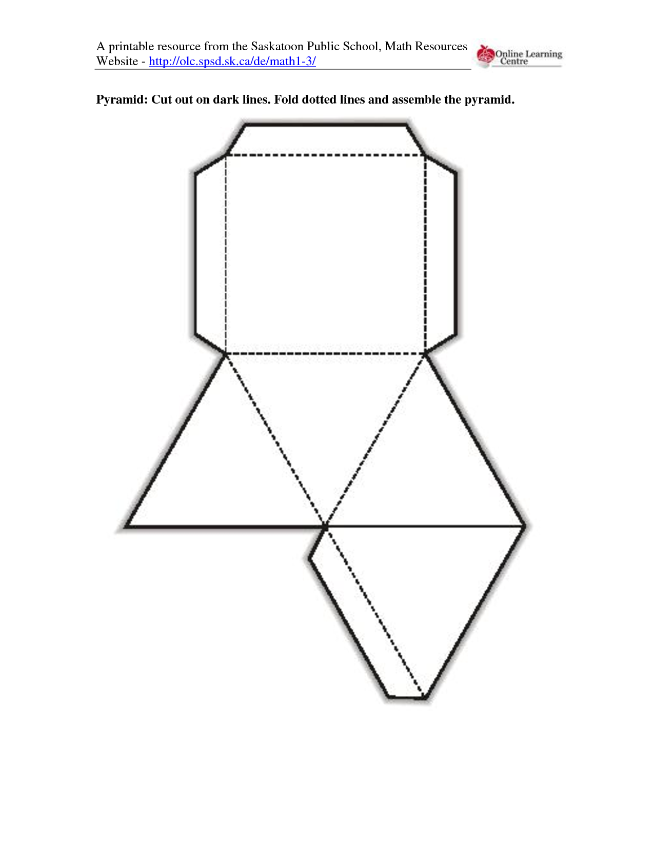5 best images of 3d shape templates printable 3d shapes How to make 3d shapes