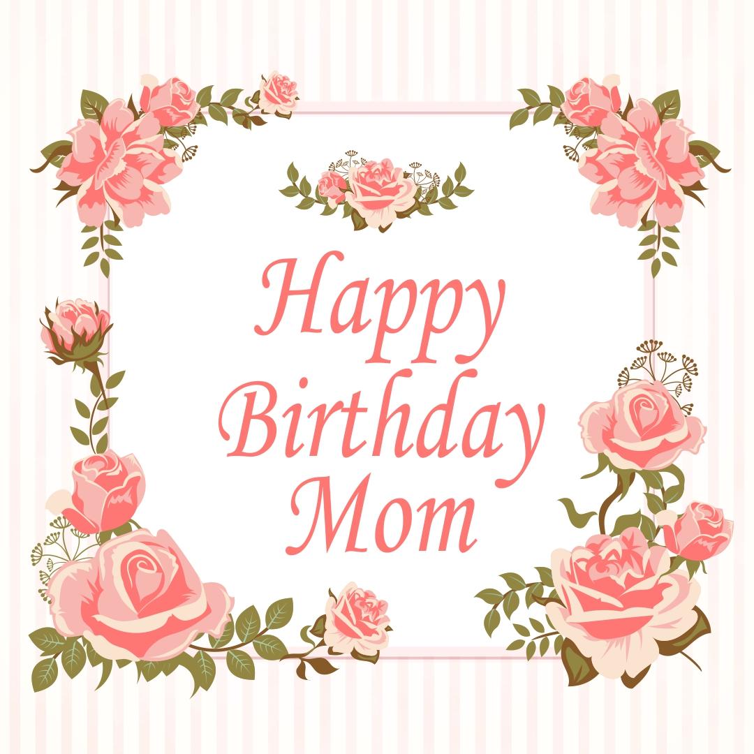 10 Best Printable Birthday Cards For Mom Printablee Com
