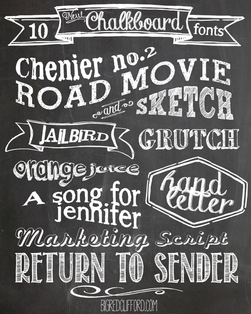 7 Images of Free Printable Fonts