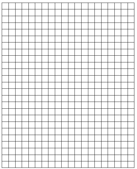 1 inch grid paper to print