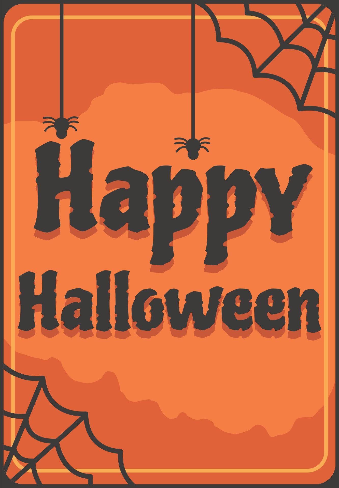 Printable Happy Halloween