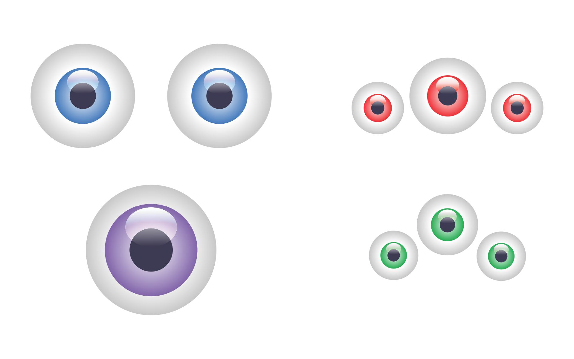 5 Images of Free Printable Eyes