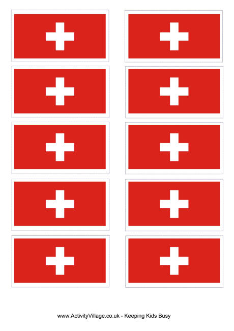 5 Images of Printable Flag Of Switzerland