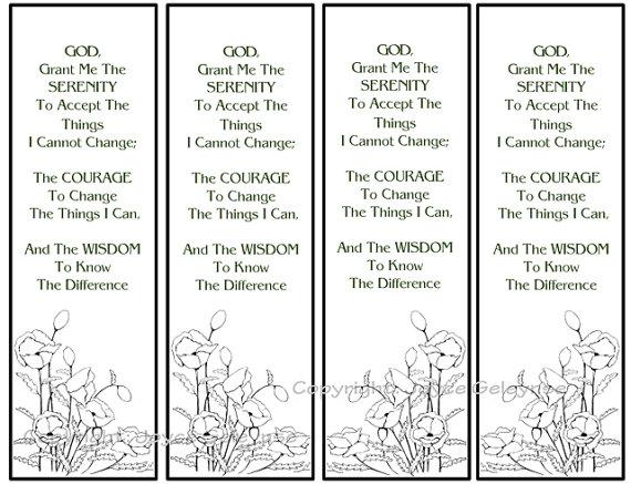 5 Images of Printable Christian Bookmarks On Prayer