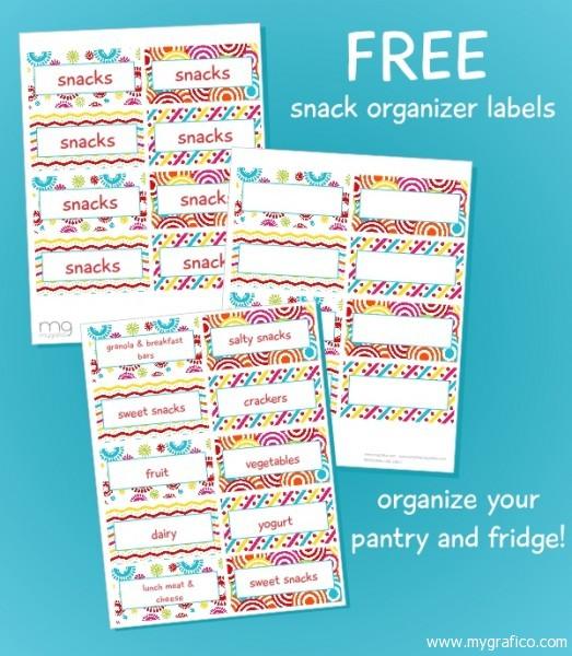 5 Images of Bin Printable Labels Organize Fridge