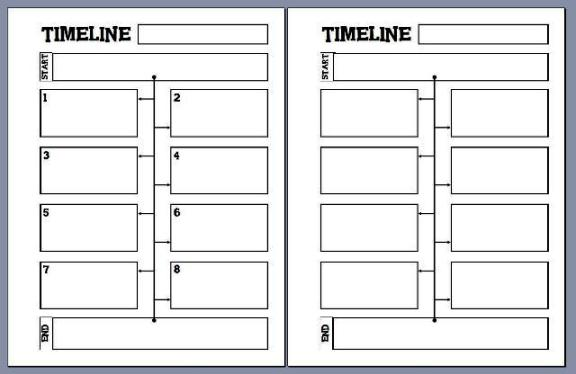 8 best images of printable blank timelines for students free printable blank timeline blank. Black Bedroom Furniture Sets. Home Design Ideas