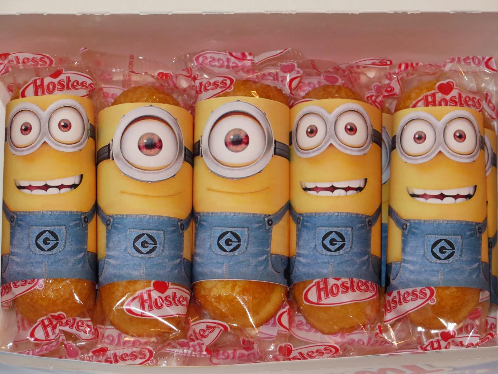 Twinkie Minion Printable
