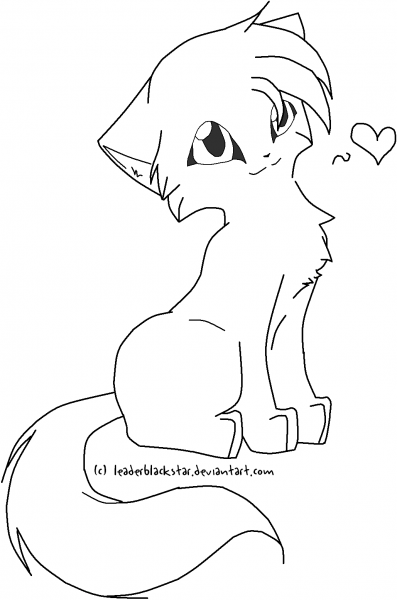 8 Best Images Of Warrior Cats Coloring Pages Printable