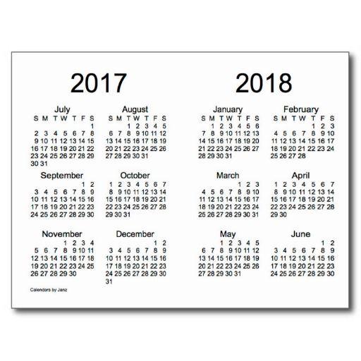 Calendar 2016 2017 2018 Printable, 2015 2016 2017 Calendar Printable ...