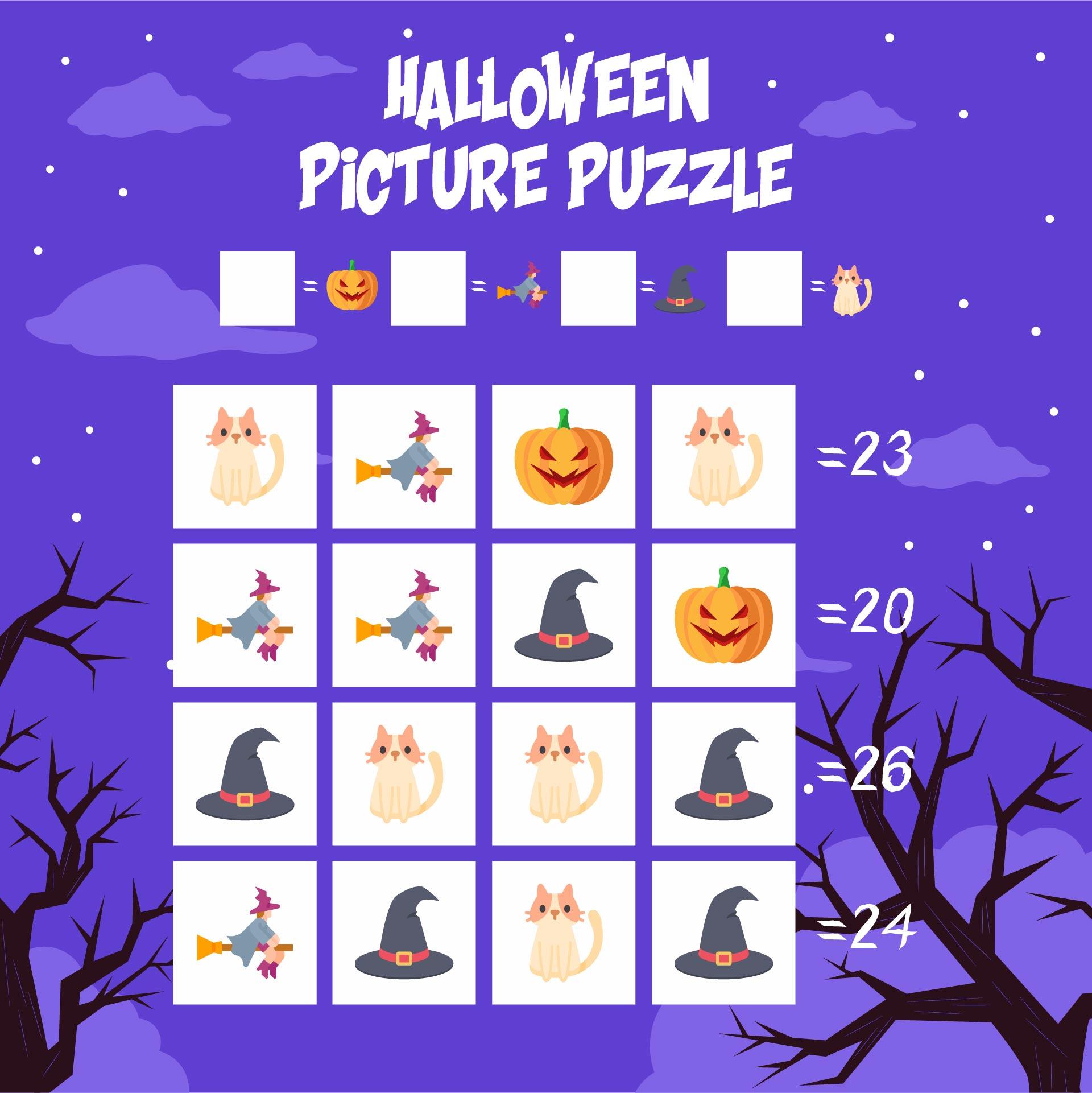 5th Grade Halloween Math Worksheets
