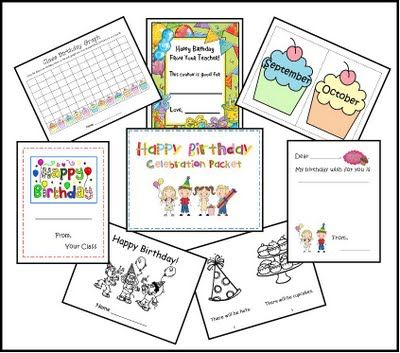 7 Images of For Classroom Birthday Printables