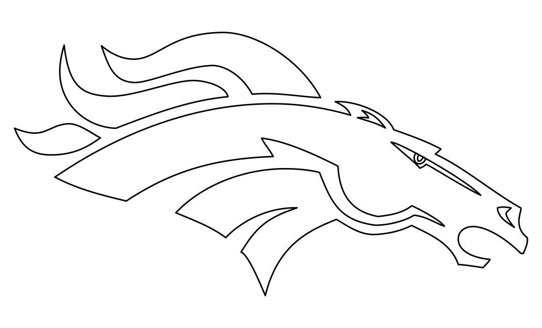 Denver Broncos Logo Template Printable