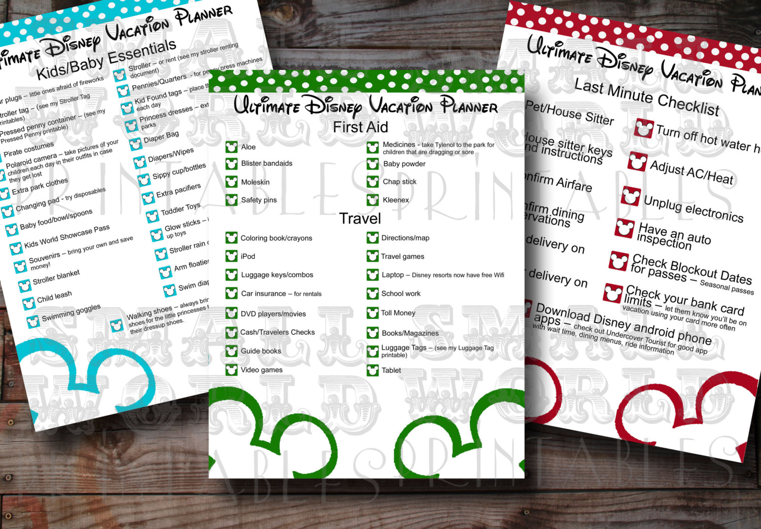 7 Best Images of Disney Trip Templates Printables - Disney ...