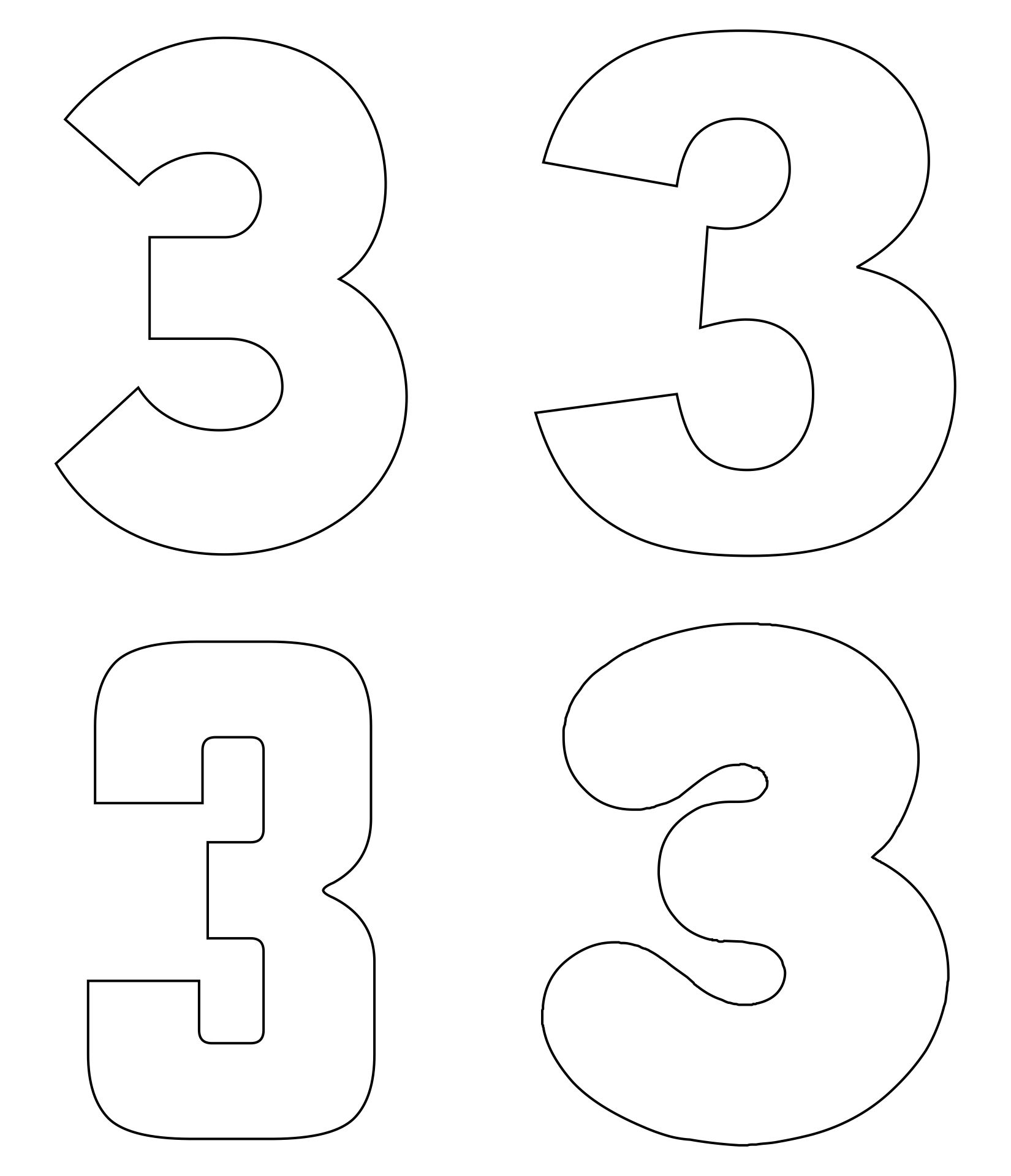 7 Best Images Of Large Printable Numbers 1 9 Printable Numbers 1
