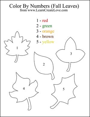 Worksheets Fall Worksheets For Kindergarten 9 best images of fall printable worksheets free leaves preschool color by numbers worksheets