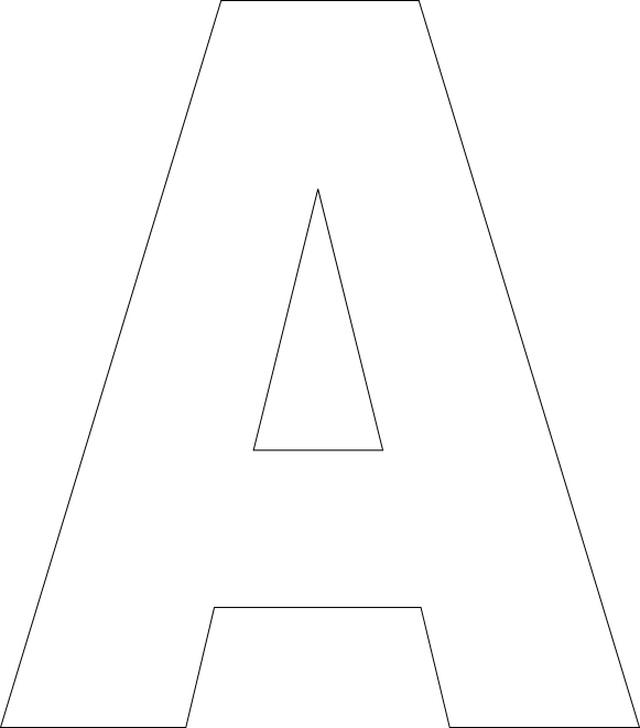 Free Printable Alphabet Letter Templates