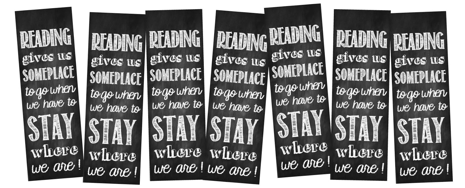 8 Images of Free Reading Printable Bookmarks