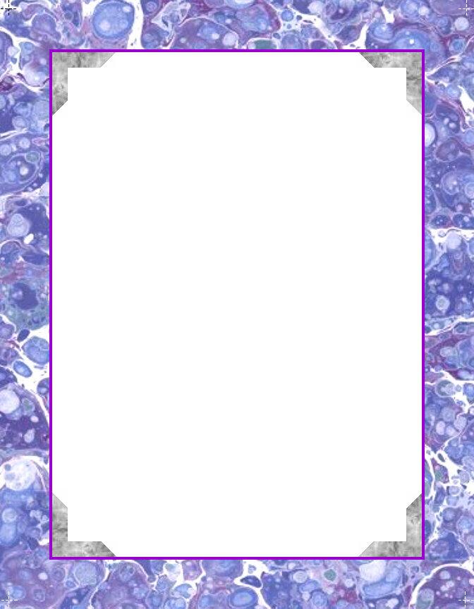 Printable Border Frames