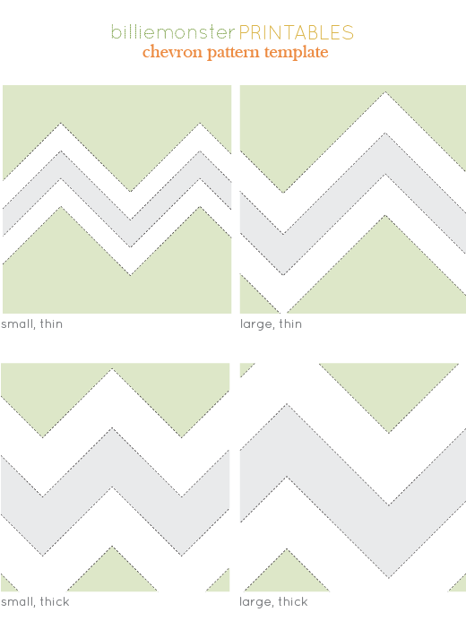 7 Images of Printable Chevron Pattern Love
