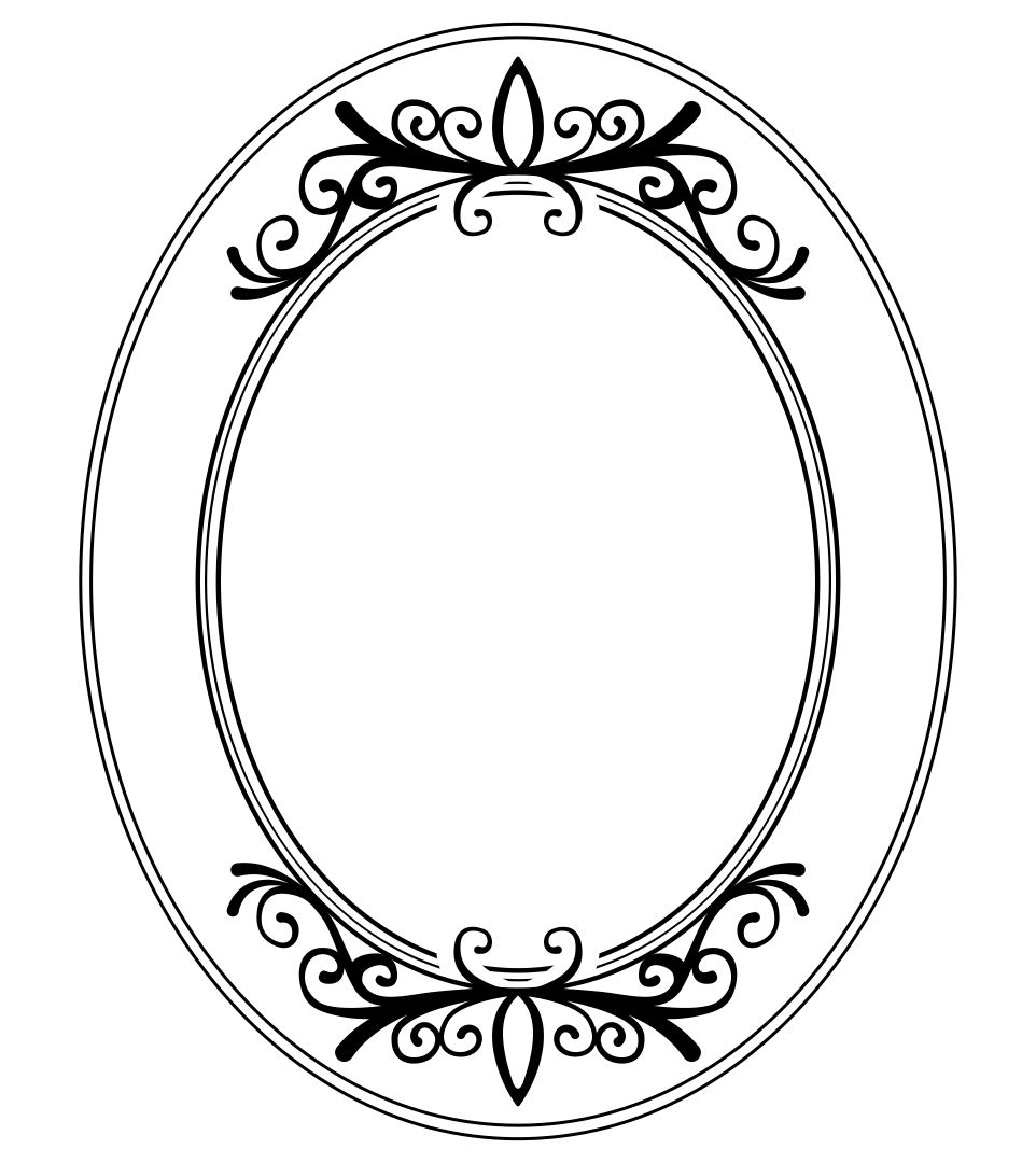8 best images of picture frame template printable for 10 frame template printable