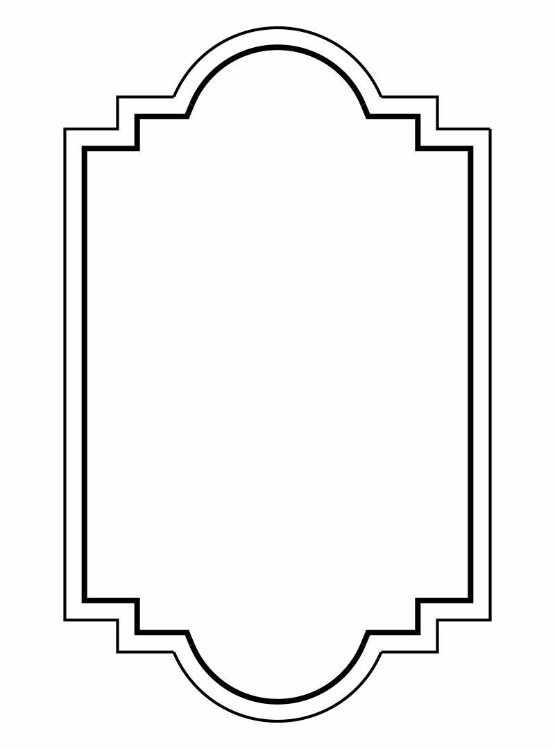 Free Printable Frame Templates
