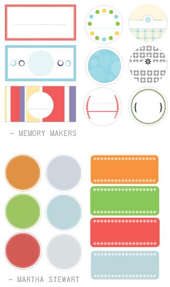 free label maker template