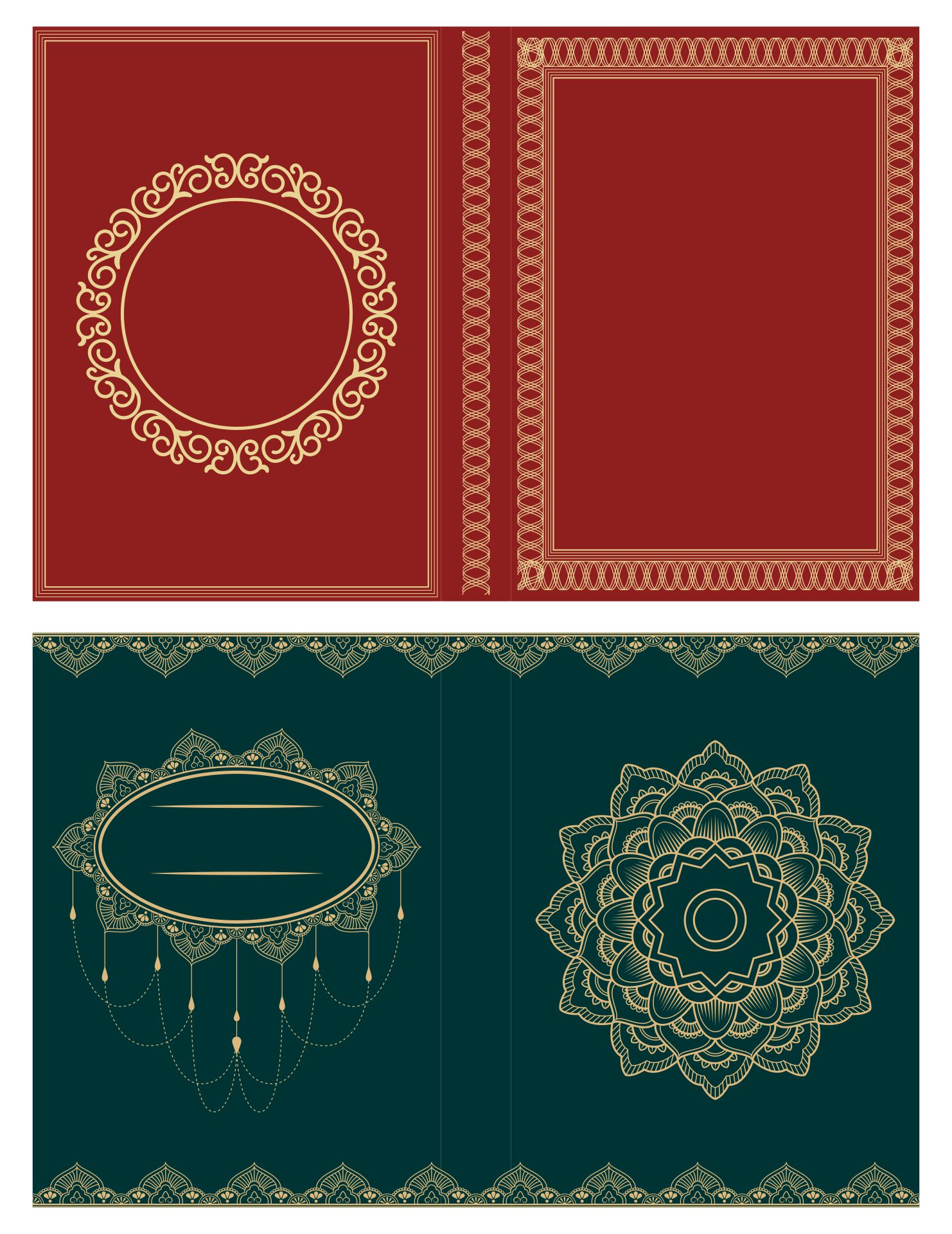 Printable Miniature Book Covers