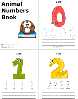 5 Images of Printable Number Books 1 10