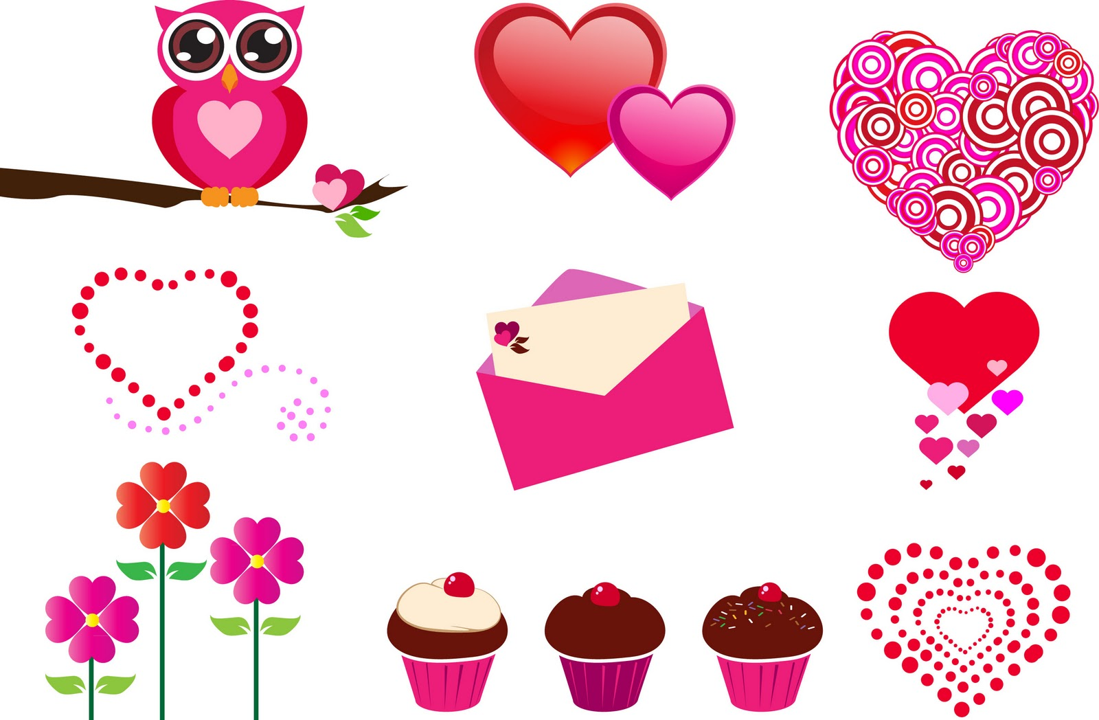 6 Images of Valentine Clip Art Free Printable