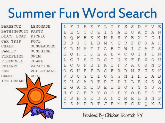 Free Printable Word Search Puzzles For Children