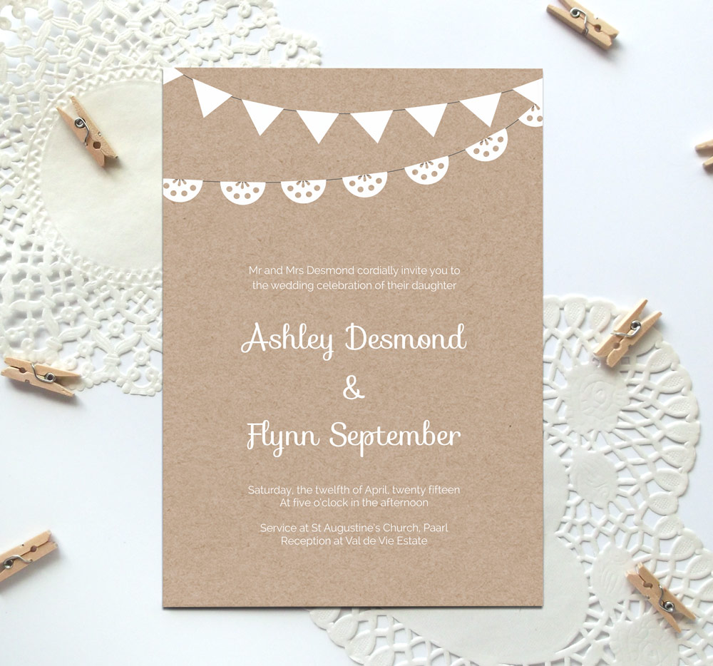 6 Images of Printable Wedding Invitation