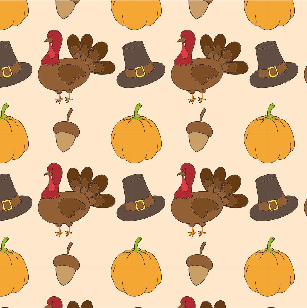 Thanksgiving Turkey Pattern