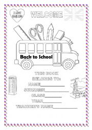 Printables Free Printable Back To School Worksheets free back to school worksheets for preschoolers bus 5 best images of printable printable