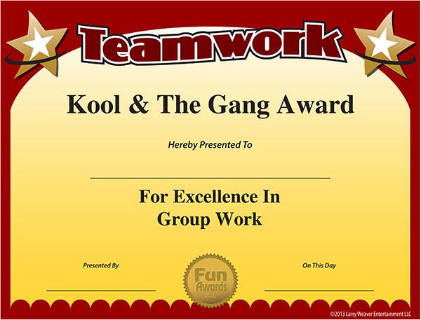 employee award certificate templates