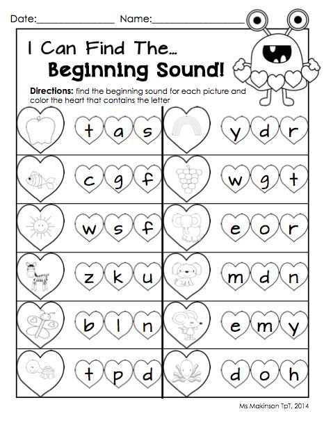 math worksheet : 9 best images of kindergarten literacy worksheets free printable  : Kindergarten Reading Worksheets Free Printables