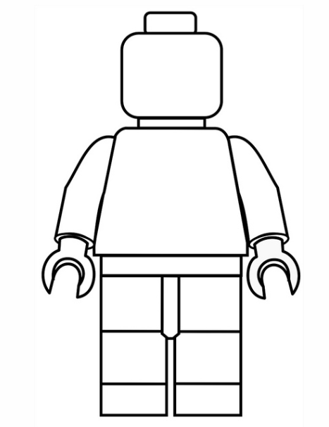 8 Images of Free LEGO Printable Coloring Pages