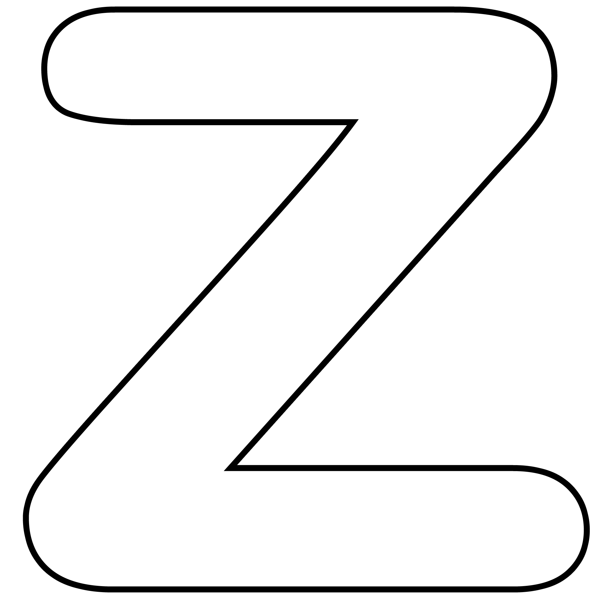 4 Images of Free Printable Letter Z Template