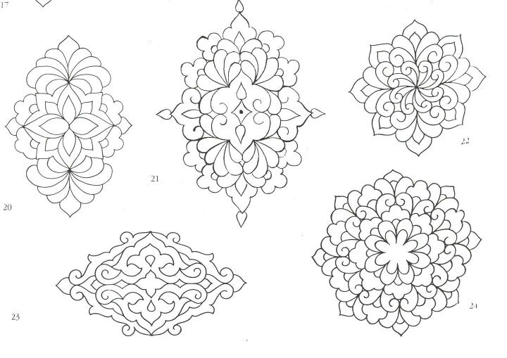 5 Best Images of Free Printable Moroccan Stencil Patterns