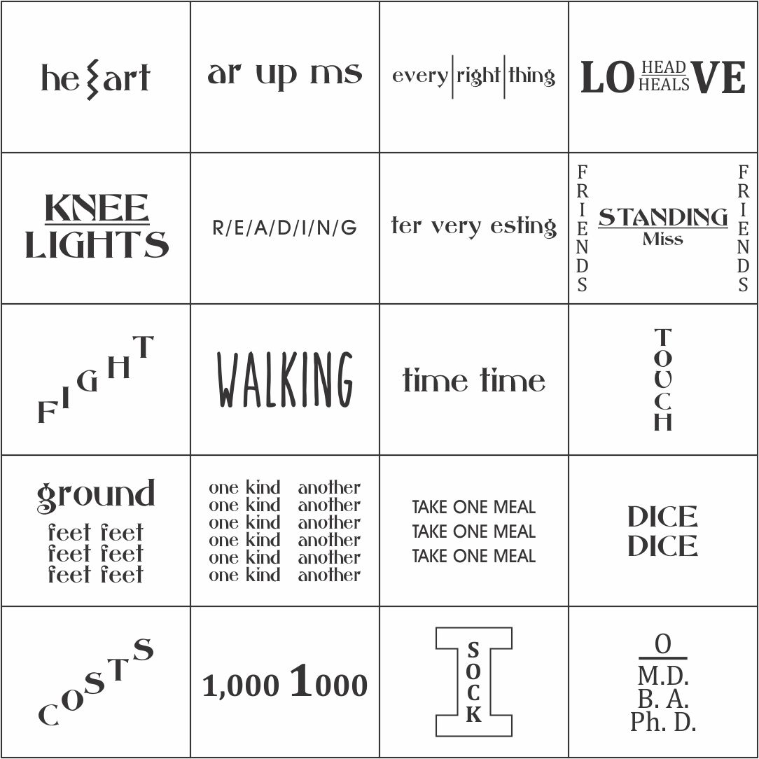 Printable Brain Teaser Puzzles with Answers