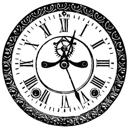 7 Best Images of Free Printable Vintage Clocks - Antique Clock ...