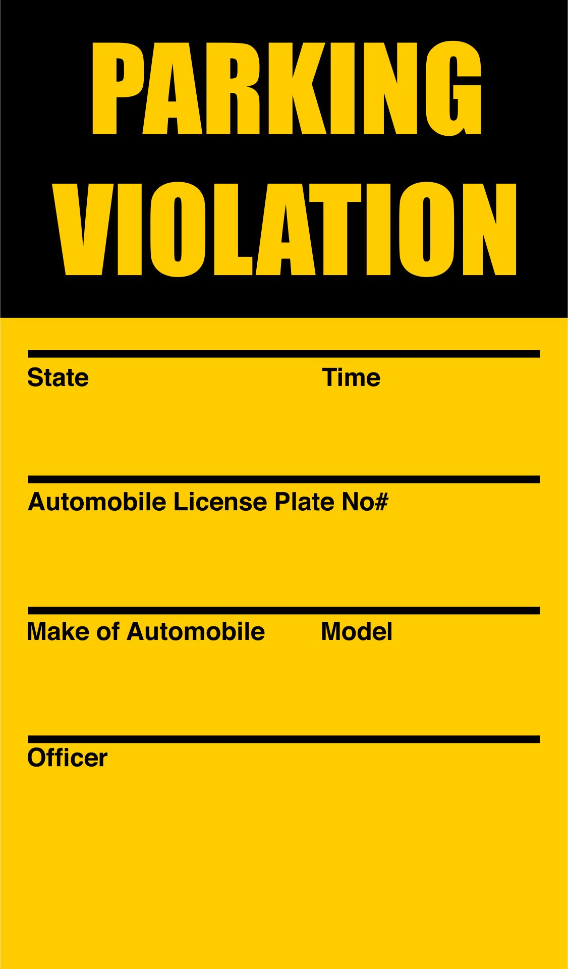5 Best Images of Free Printable Violation Tickets - Printable Fake ...