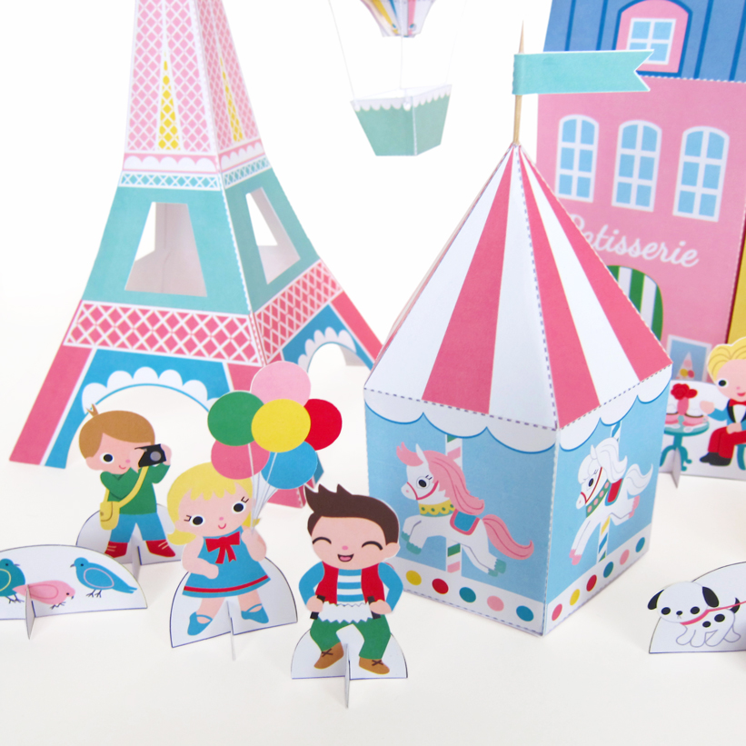 8 Images of Printable Kawaii Paper Crafts