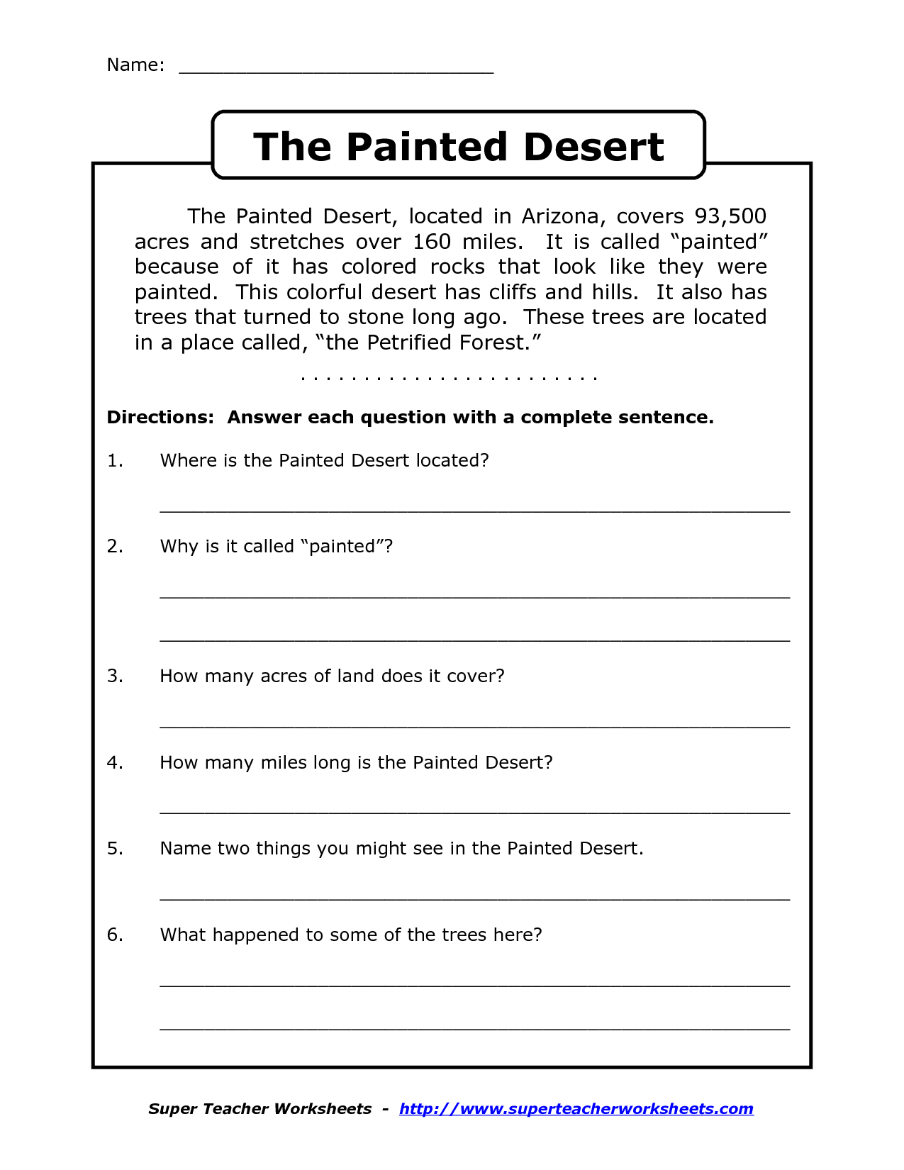 Worksheets Readings Worksheets Printables worksheets free printable comprehension for grade 3 7 best images of reading worksheets