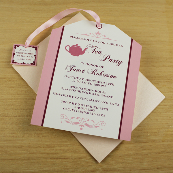 7 Images of Free Printable Tea Party Program Template