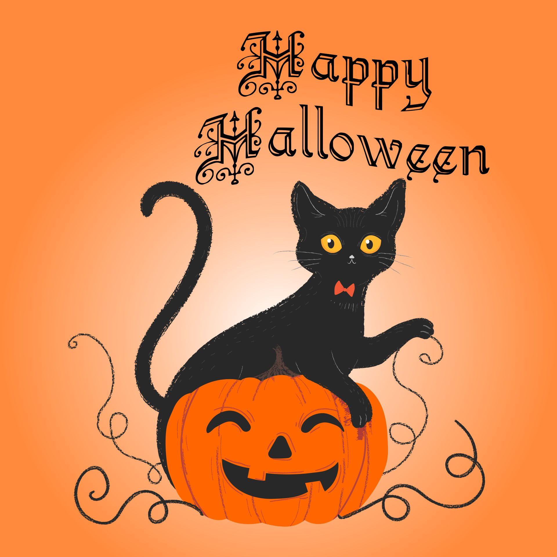 7 Images of Halloween Printables The Graphics Fairy