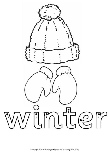 6 Images of Winter Calendar Number Printables