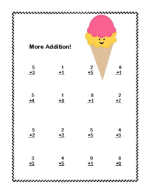 Subtraction Worksheets addition and subtraction worksheets kindergarten : First Grade Math Worksheets Addition And Subtraction - Coffemix